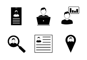 Male User Icons -2