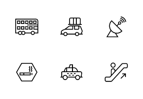 Maps, Navigation, and Road traffic sign in line, linear, outline style