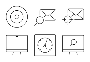 Marketing Line Icons II