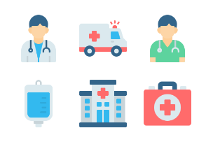 Medical & Healthcare - Flat