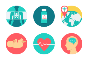 Medical Flat Icons Part-2