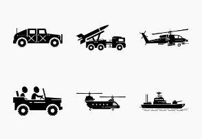 Military Army Vehicles and Transportations
