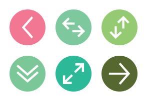 Minimal flat arrows