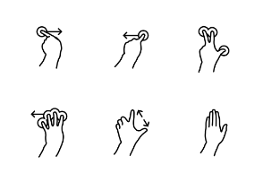 Mobile Hand Gestures