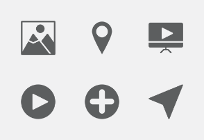 Mobile UI and UX Glyphs vol 2