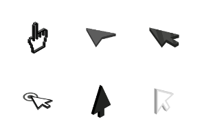 Mouse pointer - isometric