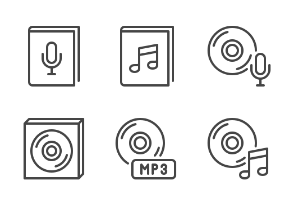 iOS icons - Music