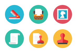 Office Icons - Rounded