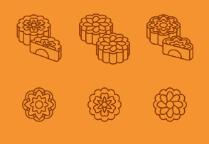 Outline Mid Autumn Festival