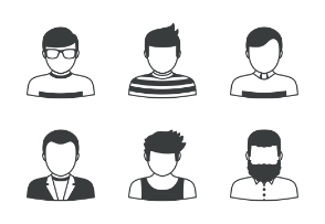 People Icons Set 1