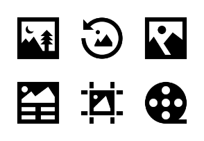 Photo and Video Glyph