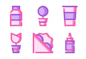 Picnic and Barbeque (Pink Mavis)