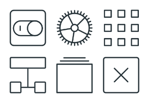 Interfaces - Stroke Icons