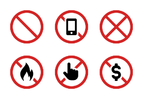 Prohibited / Forbidden Signs