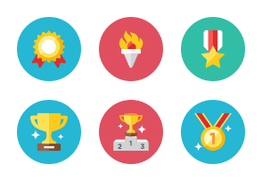 Rewards Icons - Rounded