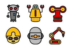 Robots Ultra Colour Collection