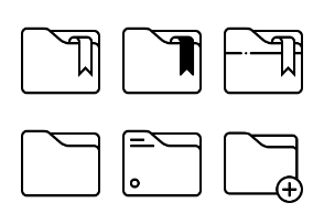 Rounded Folders