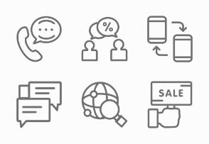 Sales Marketing - Line