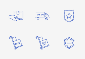 Shipping & Security