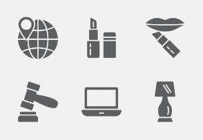 Shopping and E-commerce Glyphs vol 2