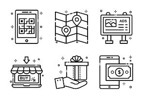 Shopping E-commerce Set 2
