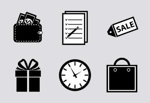 Shopping symbol