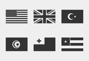 Simple World Flags