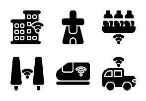 Smart City #1 (glyph/solid)