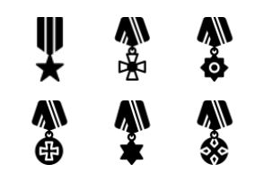 Smashicons Badges & Army - Solid - Vol 1