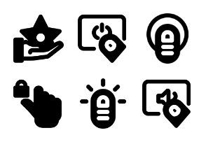 Smashicons Hand Gestures MD - Solid - Vol 1