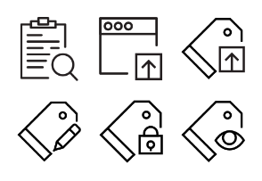 Smashicons Interactions - Outline - Vol 4