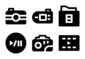 Smashicons Photography & Video MD - Solid