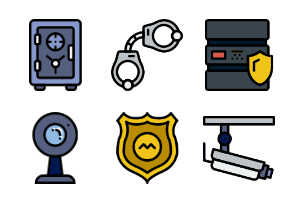 Smashicons Security 2 - Retro