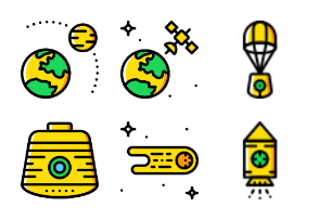 Smashicons Space 2 - Yellow