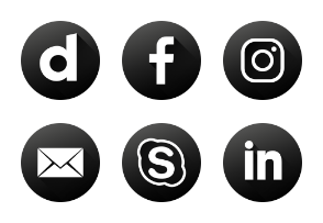 Social Media | Black & White