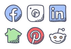 Social Media with Fill