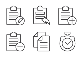 Software & Office Tools - Thick outline