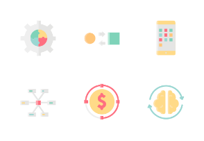 Startup Without Outline Iconset
