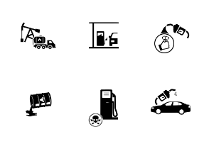 Station & Fuel Icons