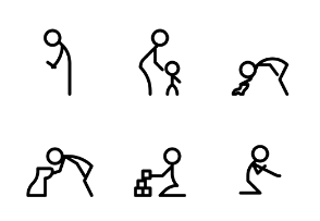 Stick Figures in Motion
