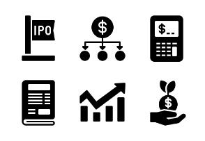 Stock Investment (Glyph)