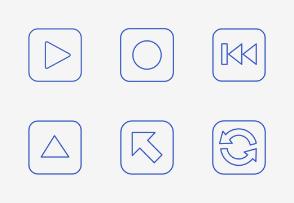 Symbols - Buttons - Add On Vol. 1