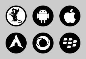 System Black Circles