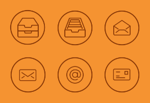 Text Type and Email, Mail, Contact Vol 5