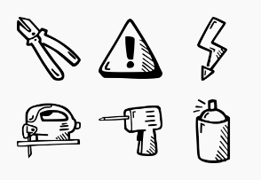 Tools - Hand Drawn Icons