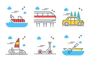Transportation - Color Pop Vol. 1