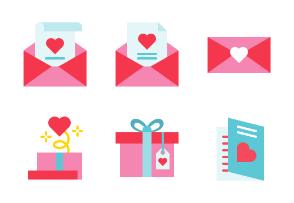 Valentine and love 2 (flat)