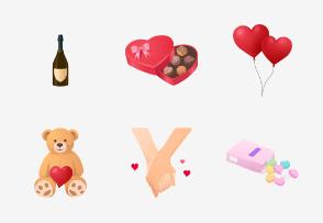 Valentines Day - Flat