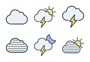 Weather - Color Icons