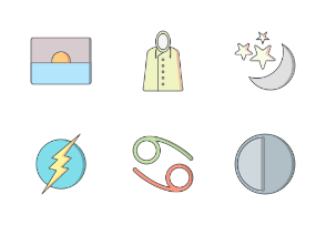 Weather Flat Outline